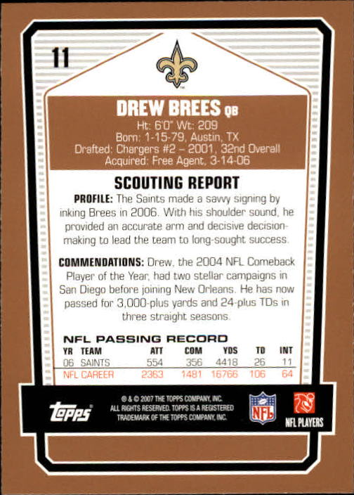 2007-Topps-Draft-Picks-and-Prospects-Football-Base-Singles-Pick-Your-Cards thumbnail 13
