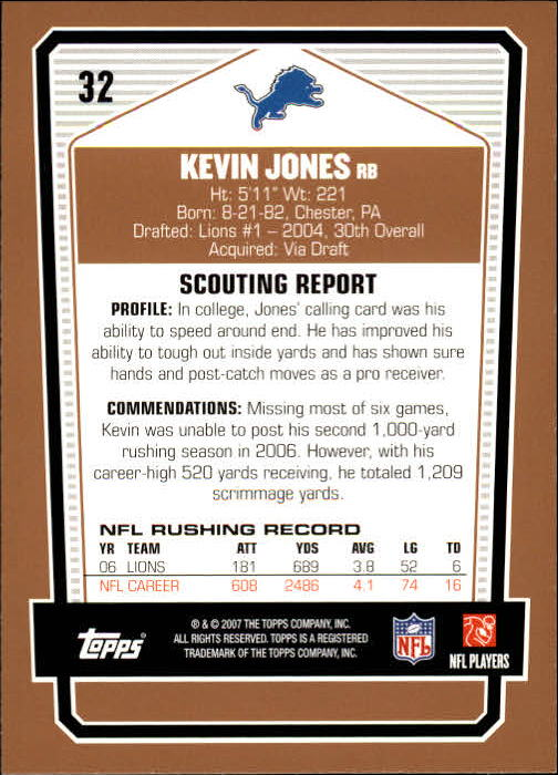 2007-Topps-Draft-Picks-and-Prospects-Football-Base-Singles-Pick-Your-Cards thumbnail 23