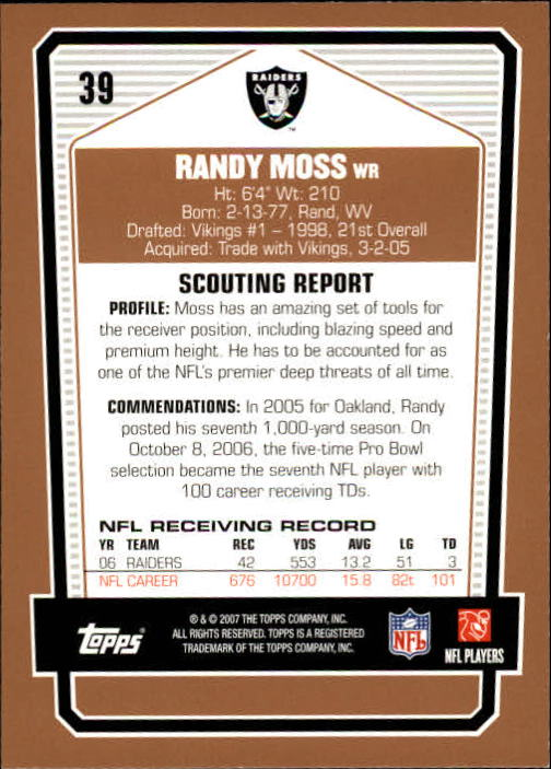 2007-Topps-Draft-Picks-and-Prospects-Football-Base-Singles-Pick-Your-Cards thumbnail 25