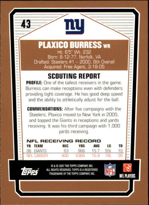 2007-Topps-Draft-Picks-and-Prospects-Football-Base-Singles-Pick-Your-Cards thumbnail 27