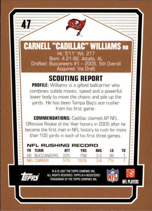 2007-Topps-Draft-Picks-and-Prospects-Football-Base-Singles-Pick-Your-Cards thumbnail 33