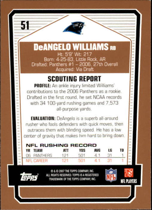 2007-Topps-Draft-Picks-and-Prospects-Football-Base-Singles-Pick-Your-Cards thumbnail 37