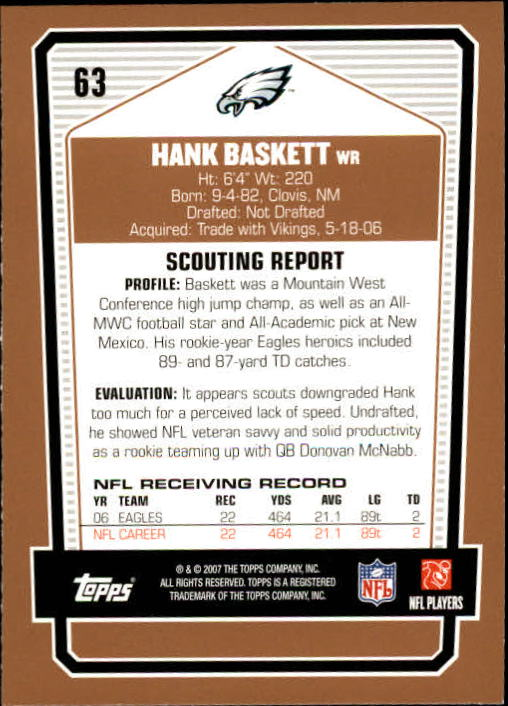 2007-Topps-Draft-Picks-and-Prospects-Football-Base-Singles-Pick-Your-Cards thumbnail 45