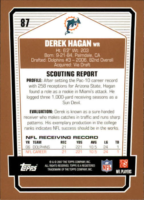 2007-Topps-Draft-Picks-and-Prospects-Football-Base-Singles-Pick-Your-Cards thumbnail 57