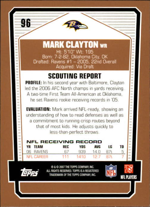 2007-Topps-Draft-Picks-and-Prospects-Football-Base-Singles-Pick-Your-Cards thumbnail 63