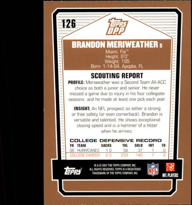 2007-Topps-Draft-Picks-and-Prospects-Football-Base-Singles-Pick-Your-Cards thumbnail 77