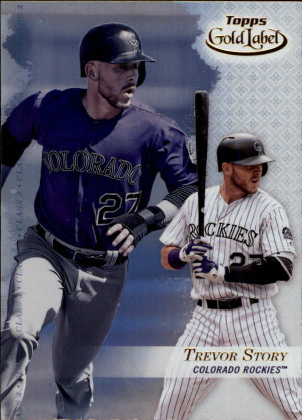 2017-Topps-Gold-Label-Baseball-Class-3-Singles-Pick-Your-Cards miniature 2
