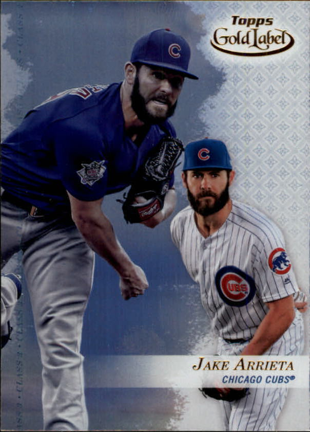 2017-Topps-Gold-Label-Baseball-Class-3-Singles-Pick-Your-Cards miniature 4