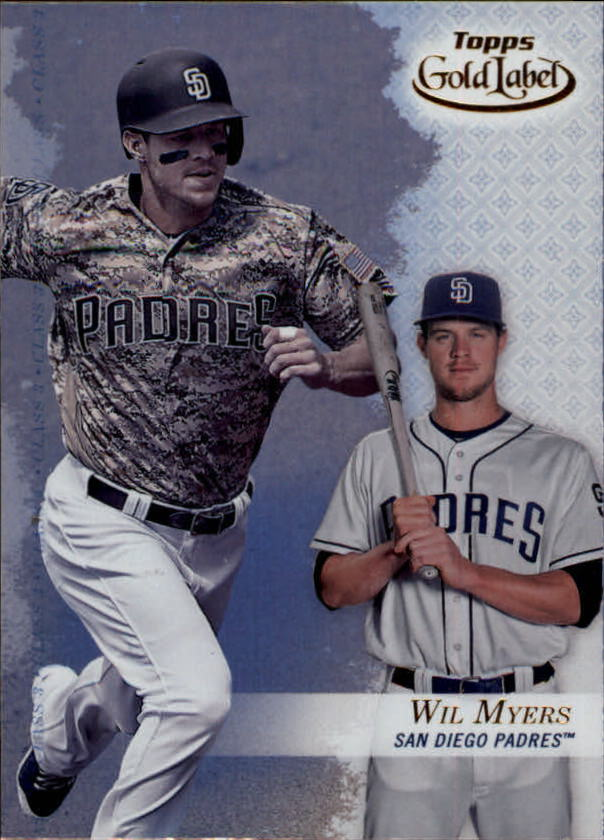 2017-Topps-Gold-Label-Baseball-Class-3-Singles-Pick-Your-Cards miniature 40