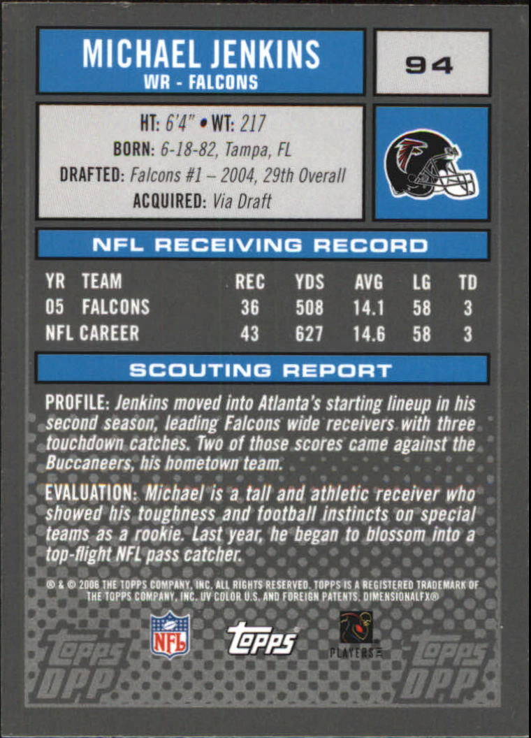 2006-Topps-Draft-Picks-and-Prospects-Football-Parallel-Singles-Pick-Your-Cards thumbnail 11