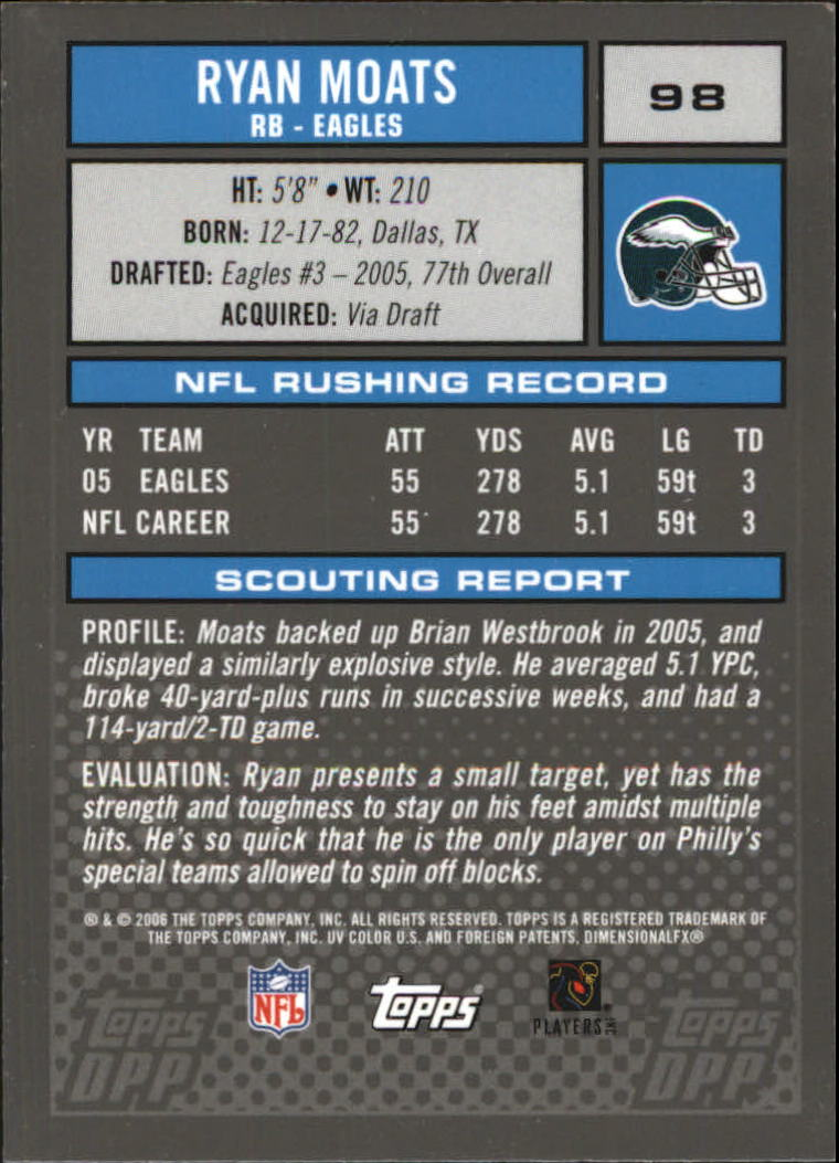 2006-Topps-Draft-Picks-and-Prospects-Football-Parallel-Singles-Pick-Your-Cards thumbnail 13