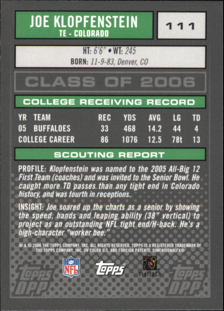 2006-Topps-Draft-Picks-and-Prospects-Football-Parallel-Singles-Pick-Your-Cards thumbnail 15