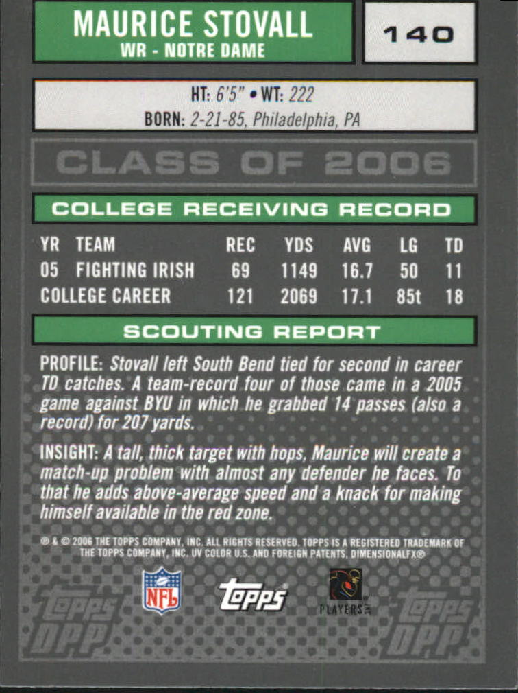 2006-Topps-Draft-Picks-and-Prospects-Football-Parallel-Singles-Pick-Your-Cards thumbnail 30