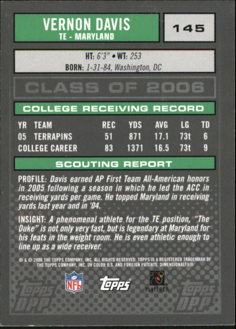 2006-Topps-Draft-Picks-and-Prospects-Football-Parallel-Singles-Pick-Your-Cards thumbnail 32