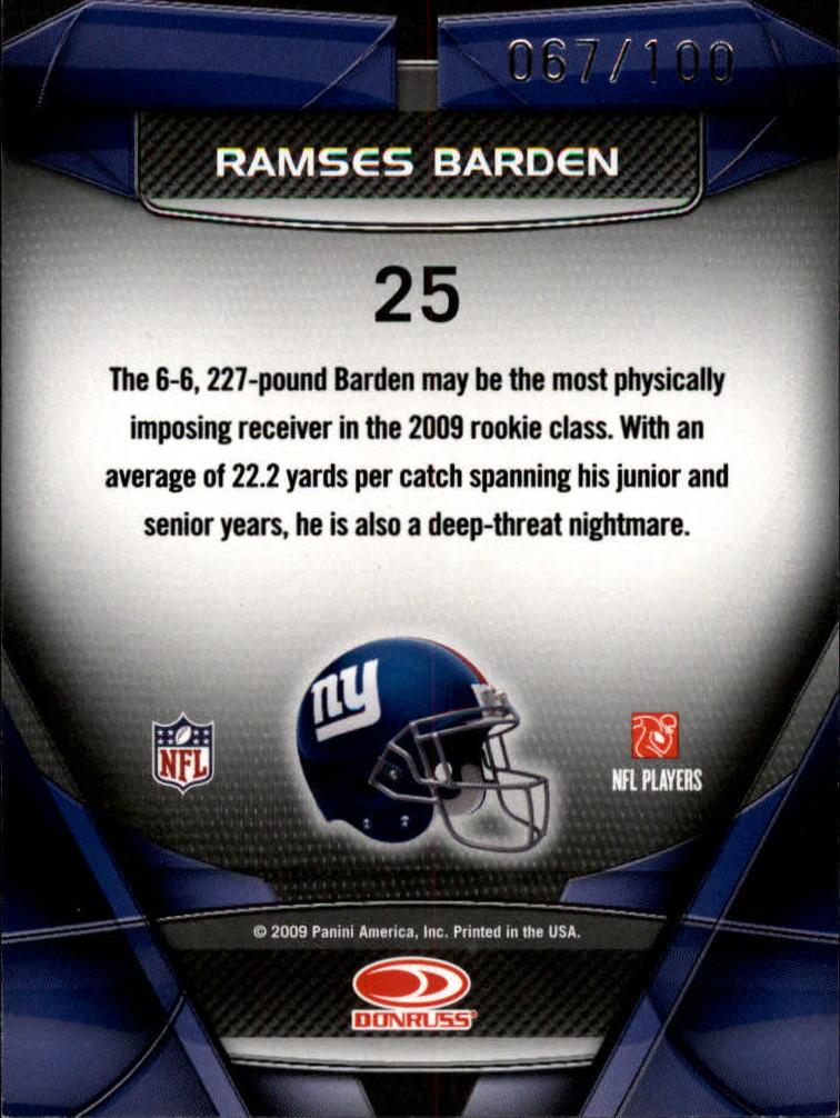 2009-Donruss-Gridiron-Gear-Football-Insert-Parallel-Singles-Pick-Your-Cards thumbnail 37