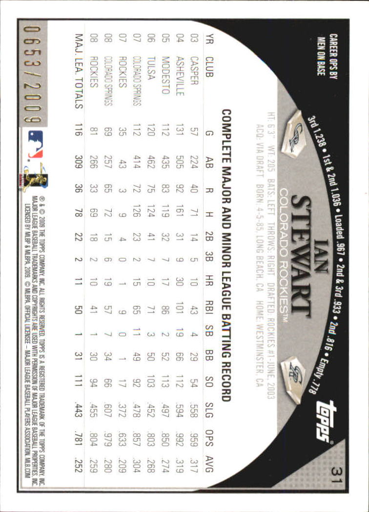 2009-Topps-Baseball-Gold-Border-Singles-Pick-Your-Cards thumbnail 5