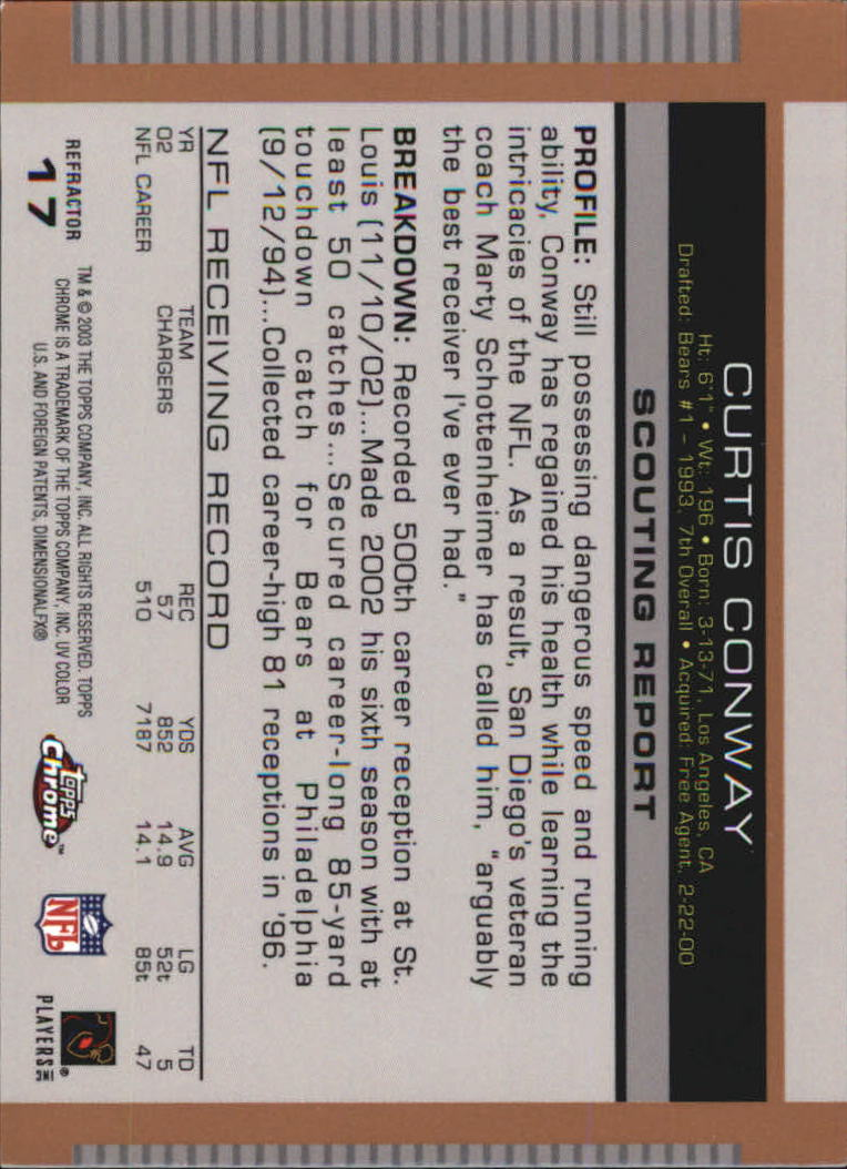 2003-Topps-Draft-Picks-and-Prospects-Football-Parallel-Singles-Pick-Your-Cards thumbnail 9