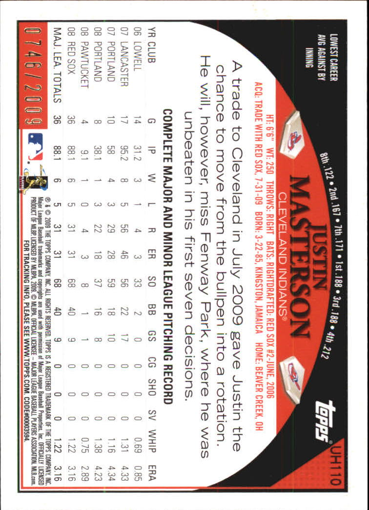 miniature 6 - 2009 Topps Update Baseball Insert/Parallel Singles (Pick Your Cards)