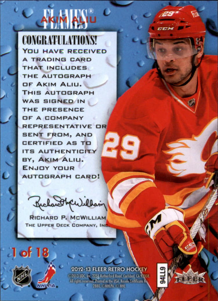 2012-13-Fleer-Retro-Hockey-Autograph-Singles-Pick-Your-Cards thumbnail 19