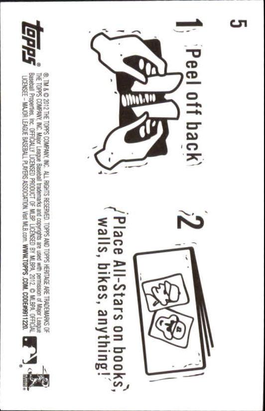 2012-Topps-Heritage-Baseball-Insert-Singles-Pick-Your-Cards thumbnail 5