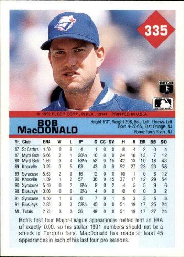 Details About 1992 Fleer Baseball Base Singles 303 716 Pick Your Cards