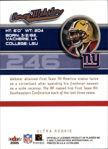 2005-Ultra-Football-Base-Singles-Pick-Your-Cards