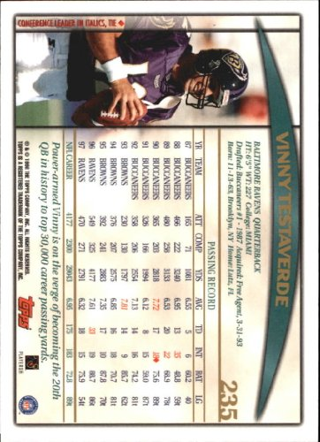 1998-Topps-Football-Base-Singles-119-347-Pick-Your-Cards thumbnail 187