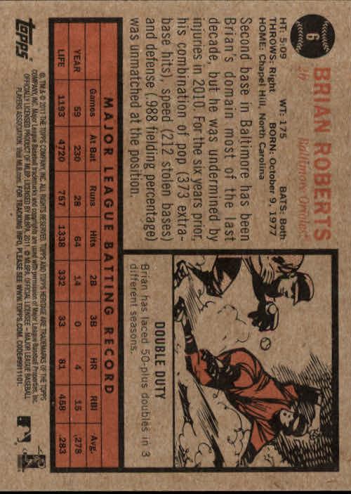2011-Topps-Heritage-Baseball-Base-Singles-Pick-Your-Cards thumbnail 3