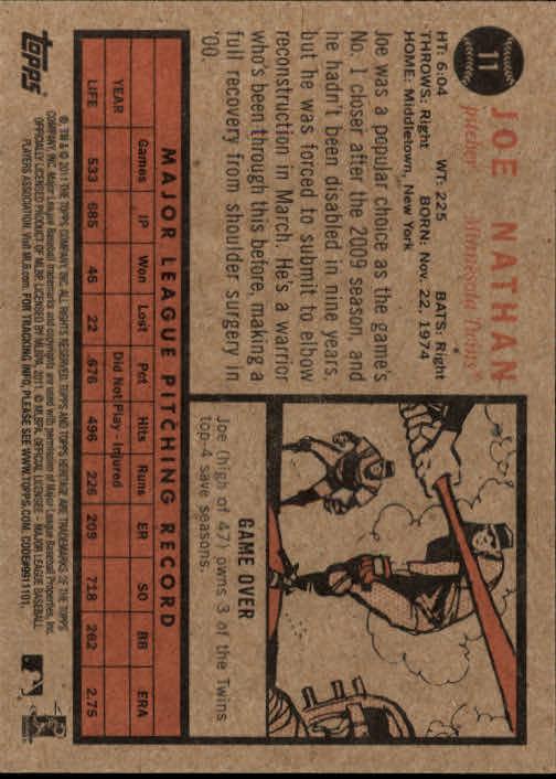 2011-Topps-Heritage-Baseball-Base-Singles-Pick-Your-Cards thumbnail 7