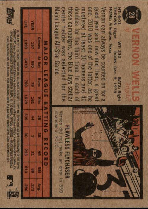 2011-Topps-Heritage-Baseball-Base-Singles-Pick-Your-Cards thumbnail 26