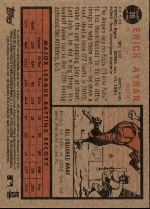 2011-Topps-Heritage-Baseball-Base-Singles-Pick-Your-Cards thumbnail 34