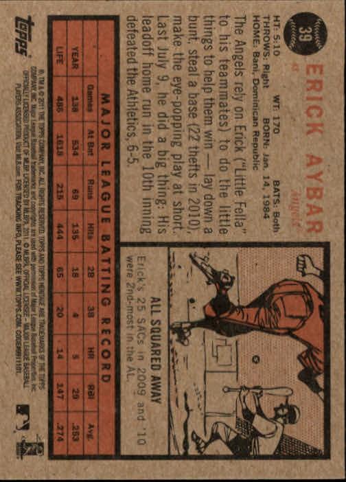 2011-Topps-Heritage-Baseball-Base-Singles-Pick-Your-Cards thumbnail 35