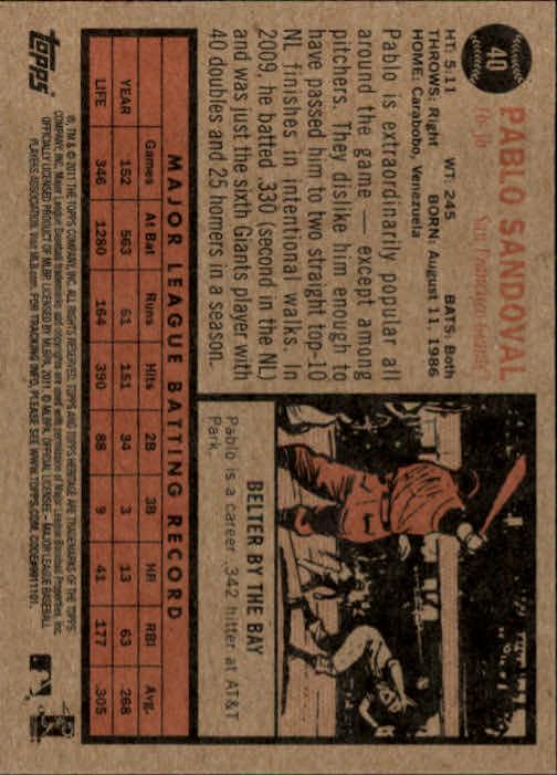 2011-Topps-Heritage-Baseball-Base-Singles-Pick-Your-Cards thumbnail 38