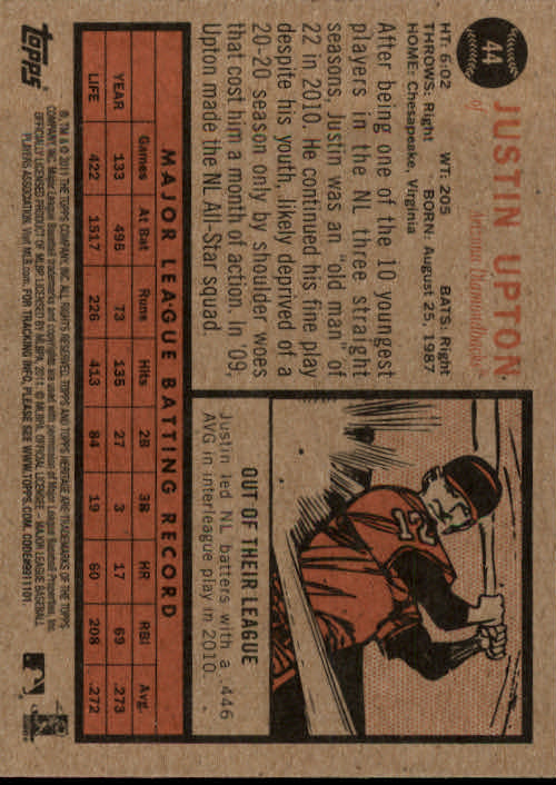 2011-Topps-Heritage-Baseball-Base-Singles-Pick-Your-Cards thumbnail 43