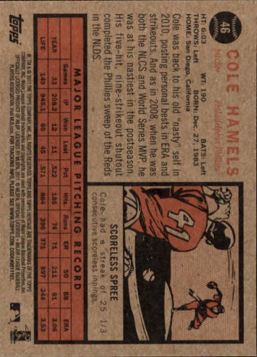 2011-Topps-Heritage-Baseball-Base-Singles-Pick-Your-Cards thumbnail 46
