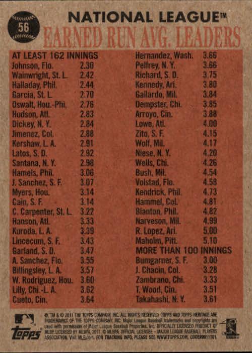 2011-Topps-Heritage-Baseball-Base-Singles-Pick-Your-Cards thumbnail 55