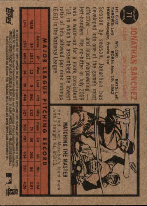 2011-Topps-Heritage-Baseball-Base-Singles-Pick-Your-Cards thumbnail 63