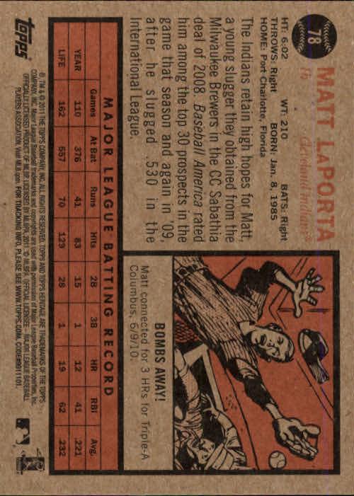 2011-Topps-Heritage-Baseball-Base-Singles-Pick-Your-Cards thumbnail 71