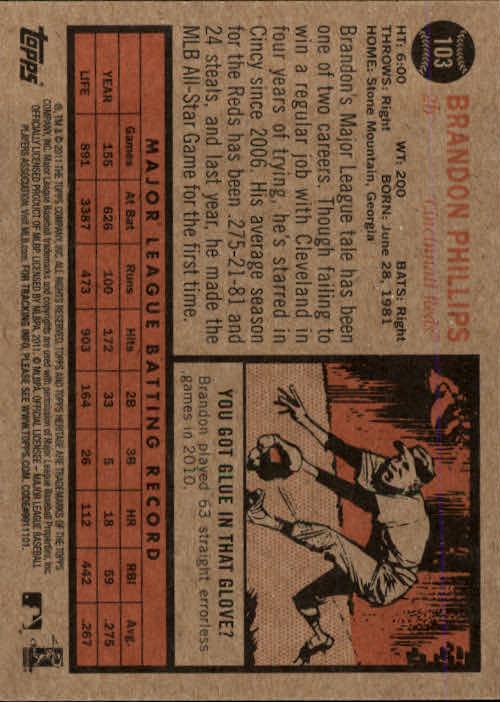 2011-Topps-Heritage-Baseball-Base-Singles-Pick-Your-Cards thumbnail 110
