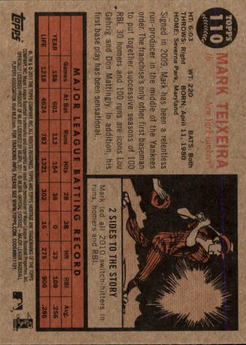 2011-Topps-Heritage-Baseball-Base-Singles-Pick-Your-Cards thumbnail 115