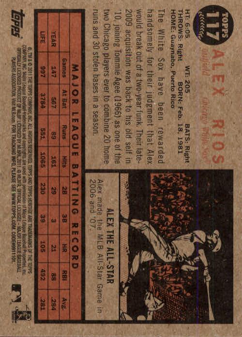 2011-Topps-Heritage-Baseball-Base-Singles-Pick-Your-Cards thumbnail 123
