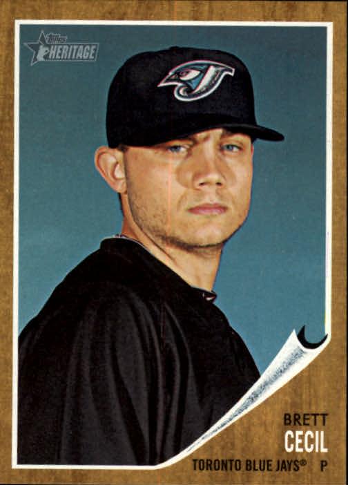 2011-Topps-Heritage-Baseball-Base-Singles-Pick-Your-Cards thumbnail 145