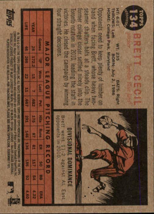 2011-Topps-Heritage-Baseball-Base-Singles-Pick-Your-Cards thumbnail 147