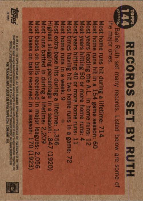 2011-Topps-Heritage-Baseball-Base-Singles-Pick-Your-Cards thumbnail 155