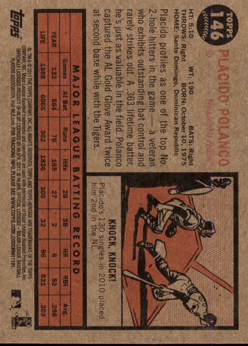 2011-Topps-Heritage-Baseball-Base-Singles-Pick-Your-Cards thumbnail 158