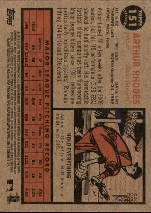 2011-Topps-Heritage-Baseball-Base-Singles-Pick-Your-Cards thumbnail 170