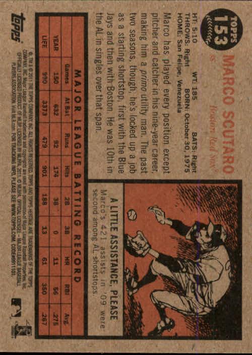 2011-Topps-Heritage-Baseball-Base-Singles-Pick-Your-Cards thumbnail 175
