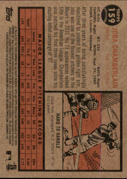 2011-Topps-Heritage-Baseball-Base-Singles-Pick-Your-Cards thumbnail 182
