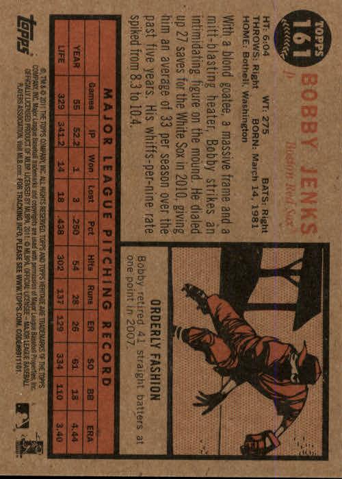 2011-Topps-Heritage-Baseball-Base-Singles-Pick-Your-Cards thumbnail 186