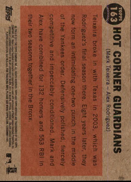 2011-Topps-Heritage-Baseball-Base-Singles-Pick-Your-Cards thumbnail 190